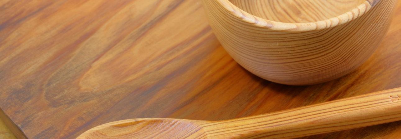 オーガニック素材の食器を使って、安全に食を楽しむこともオススメです!