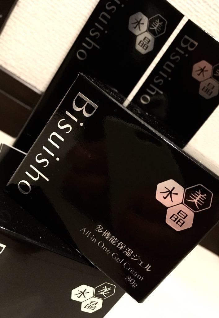 化粧品、美水晶のオールインワン。