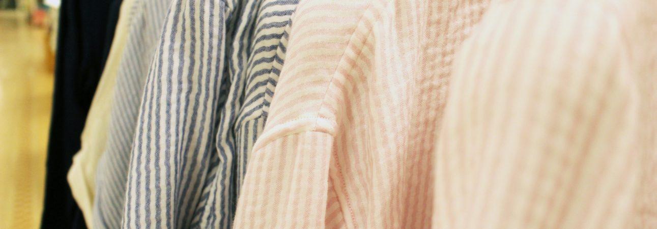 オーガニック素材の服が人気です。その中でもオーガニックコットンの人気が高いようです。