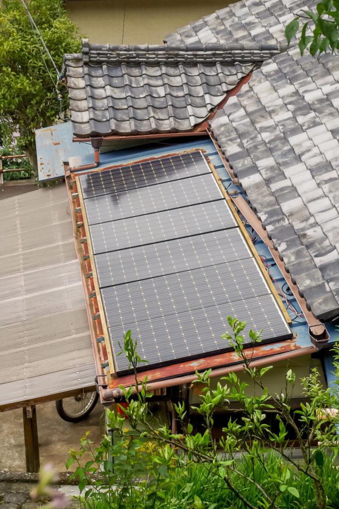 オフグリッド=送電線系統に接続されていないエネルギー供給システム。