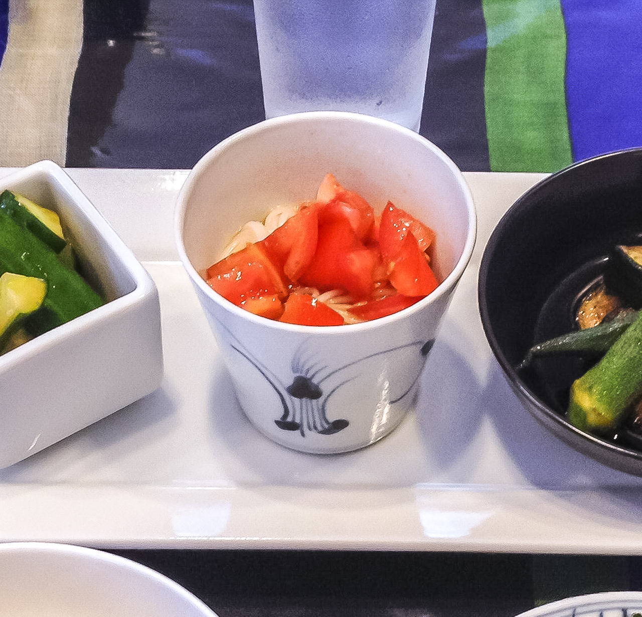 夏バテ予防によい食材と簡単レシピのお昼ご飯編の紹介「トマトそうめん」