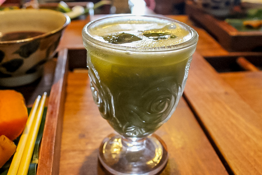 沖縄の『Caféがらまんじゃく』のお料理