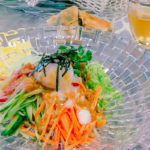 夏バテ予防によい食材と簡単レシピのお昼ご飯編の紹介「ゴマだれ蕎麦サラダ」