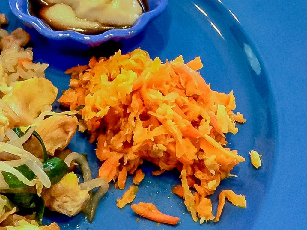 夏バテ予防によい食材と簡単レシピの晩ご飯編の紹介「人参のシリシリ」