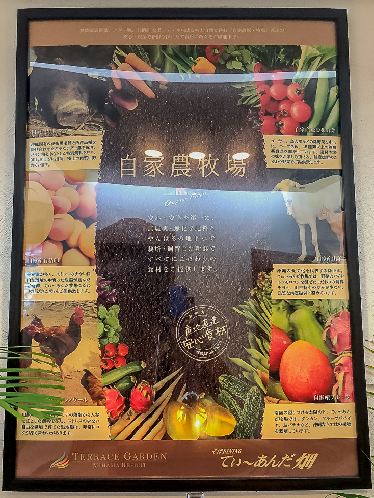 沖縄のオーガニックにこだわったリゾートホテル・テラスガーデン美浜リゾートのプリフィックスのコース仕立ての朝食のこだわり