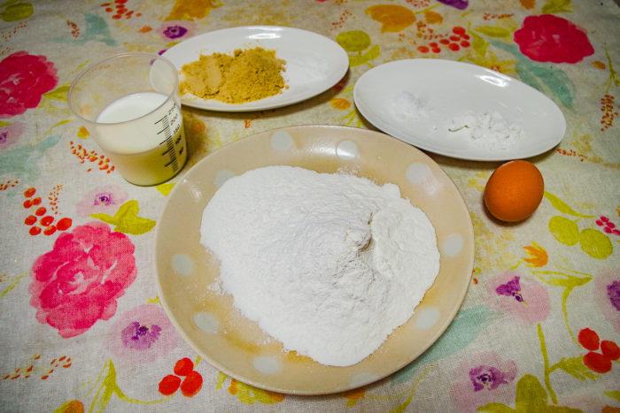 米粉ホットケーキのレシピをご紹介します。