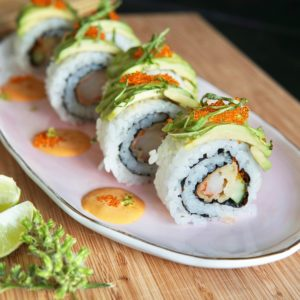簡単、美味しい、おしゃれなアメリカの巻き寿司!