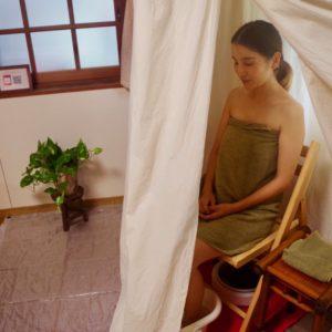 温活療法の注目株!植物のパワーを蒸気で浴びるハーブテントに行ってみた!