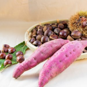 味覚の秋到来♪女性に嬉しい栄養が詰まった栗の美味しい季節!~前編~